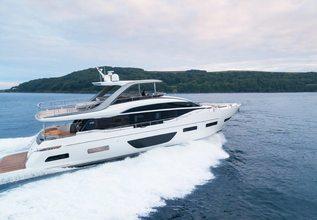Splash Charter Yacht at Fort Lauderdale Boat Show 2019 (FLIBS)