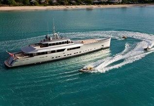 Exuma Charter Yacht at Singapore Yacht Show 2014