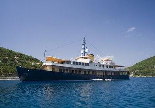 Seagull II Charter Yacht at MIPIM 2014