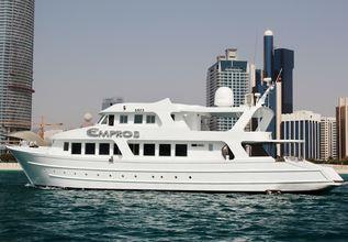 Empros 100 Charter Yacht at Abu Dhabi Grand Prix 2017