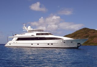 Sans Souci Charter Yacht at Fort Lauderdale Boat Show 2014