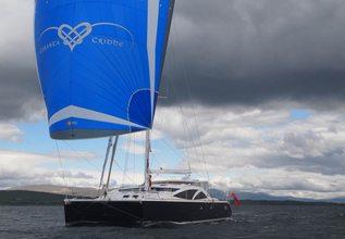 Curanta Cridhe Charter Yacht at Antigua Charter Show 2015