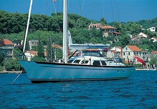 Wavelength Charter Yacht at St. Barth's Bucket Regatta 2015