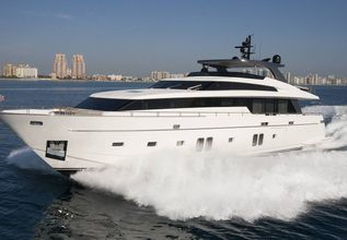 Monica Charter Yacht at Miami Yacht Show 2020