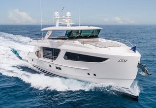 Knot a Horse Charter Yacht at Fort Lauderdale Boat Show 2019 (FLIBS)