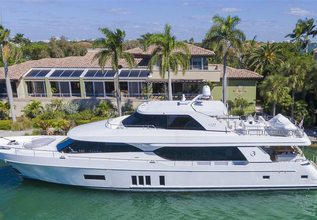 Sweet Debbie Charter Yacht at Fort Lauderdale Boat Show 2017