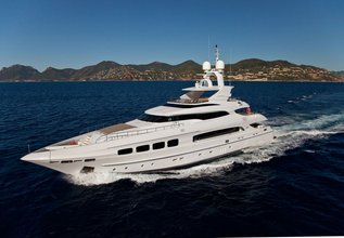 Seven S Charter Yacht at MYBA Charter Show 2013