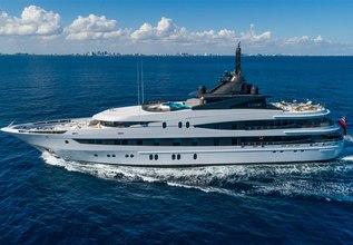 Luna B Charter Yacht at Antigua Charter Yacht Show 2014