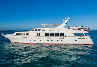 Haven Charter Yacht at Bahamas Charter Show 2020