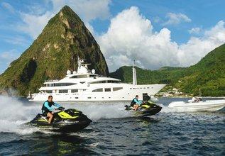 Ramble On Rose Charter Yacht at Monaco Grand Prix Yacht Charter