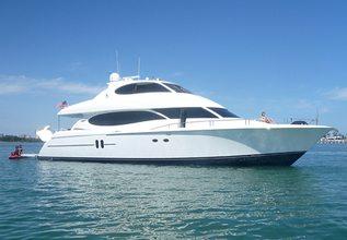 Kemosabe Charter Yacht at Palm Beach Boat Show 2019