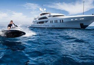 Liberty Charter Yacht at Monaco Grand Prix Yacht Charter