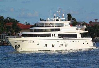 Troubadour Charter Yacht at Yachts Miami Beach 2017