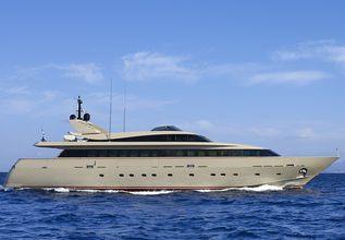 Christina V Charter Yacht at Mediterranean Yacht Show 2019