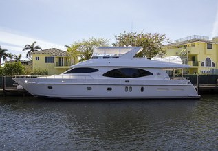 Irresistible Charter Yacht at Palm Beach Boat Show 2014
