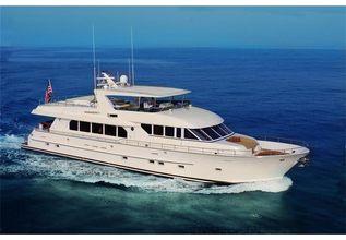 Rhapsody Charter Yacht at Palm Beach Boat Show 2014