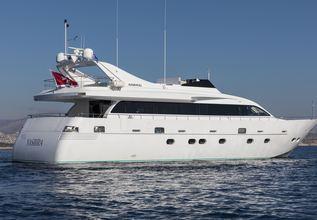 Salina Charter Yacht at Mediterranean Yacht Show 2017