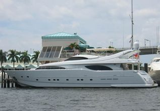 Lady Arlington Charter Yacht at Miami Yacht Show 2020