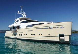 Solis Charter Yacht at Monaco Yacht Show 2015