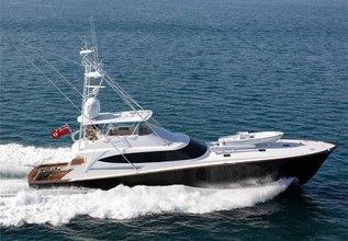 Satu Charter Yacht at Palm Beach Boat Show 2014