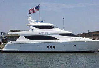 Destiny IV Charter Yacht at Miami Yacht Show 2019
