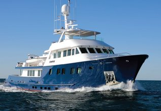 Stampede Charter Yacht at Fort Lauderdale Boat Show 2015