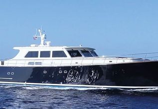 Essence of Cayman Charter Yacht at Palm Beach Boat Show 2019