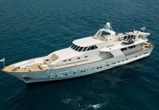 Oceane II Charter Yacht at Mediterranean Yacht Show 2017