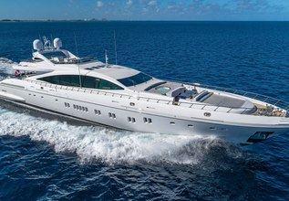 Incognito Charter Yacht at Miami Yacht Show 2019