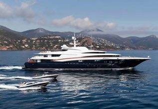 Wheels Charter Yacht at The Superyacht Show 2018