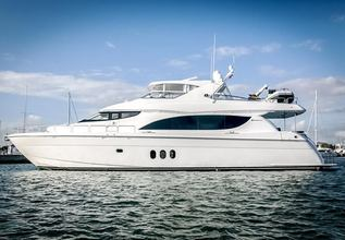 Mimi Charter Yacht at Fort Lauderdale Boat Show 2015