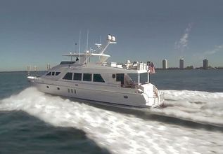 Cintax Charter Yacht at Miami Yacht Show 2018