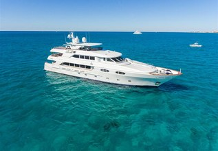 TCB Charter Yacht at Palm Beach Boat Show 2019