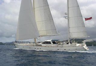 Sultana Charter Yacht at Palma Superyacht Show 2015