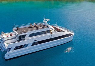 Pacific Quest Charter Yacht at Australian Superyacht Rendezvous 2018