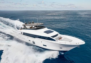 SnowGhost Charter Yacht at Miami Yacht Show 2020