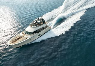 Monte Carlo 80 Charter Yacht at Fort Lauderdale Boat Show 2019 (FLIBS)