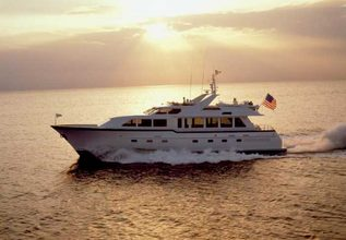 Roamin Holiday Charter Yacht at Fort Lauderdale Boat Show 2014