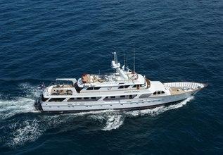Golden Compass Charter Yacht at Antigua Charter Yacht Show 2014