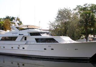 Sweet Serenity II Charter Yacht at Palm Beach Boat Show 2014
