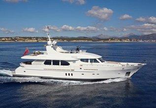 Jasmine Luna Charter Yacht at Palma Superyacht Show 2018