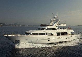 Salu Charter Yacht at Monaco Grand Prix Yacht Charter