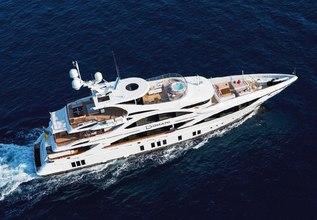 Domani Charter Yacht at Yachts Miami Beach 2017