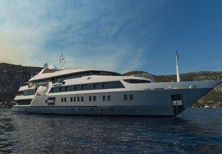 Serenity Charter Yacht at Monaco Grand Prix Yacht Charter