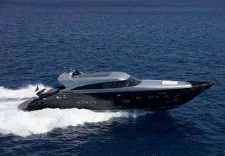 George P Charter Yacht at Mediterranean Yacht Show 2014