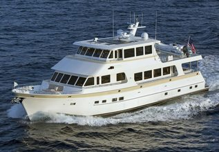 Eagle Charter Yacht at Miami Yacht Show 2020
