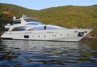 Almata Charter Yacht at Palm Beach Boat Show 2013