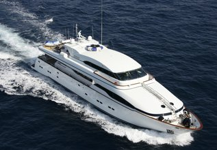 Wheels I Charter Yacht at MYBA Charter Show 2014