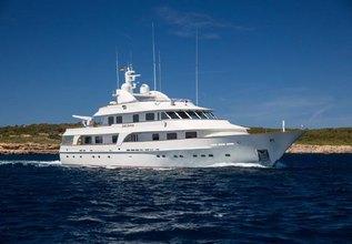 Lady Duvera III Charter Yacht at Monaco Yacht Show 2015