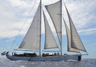 Kairos II Charter Yacht at Antigua Classic Yacht Regatta 2017